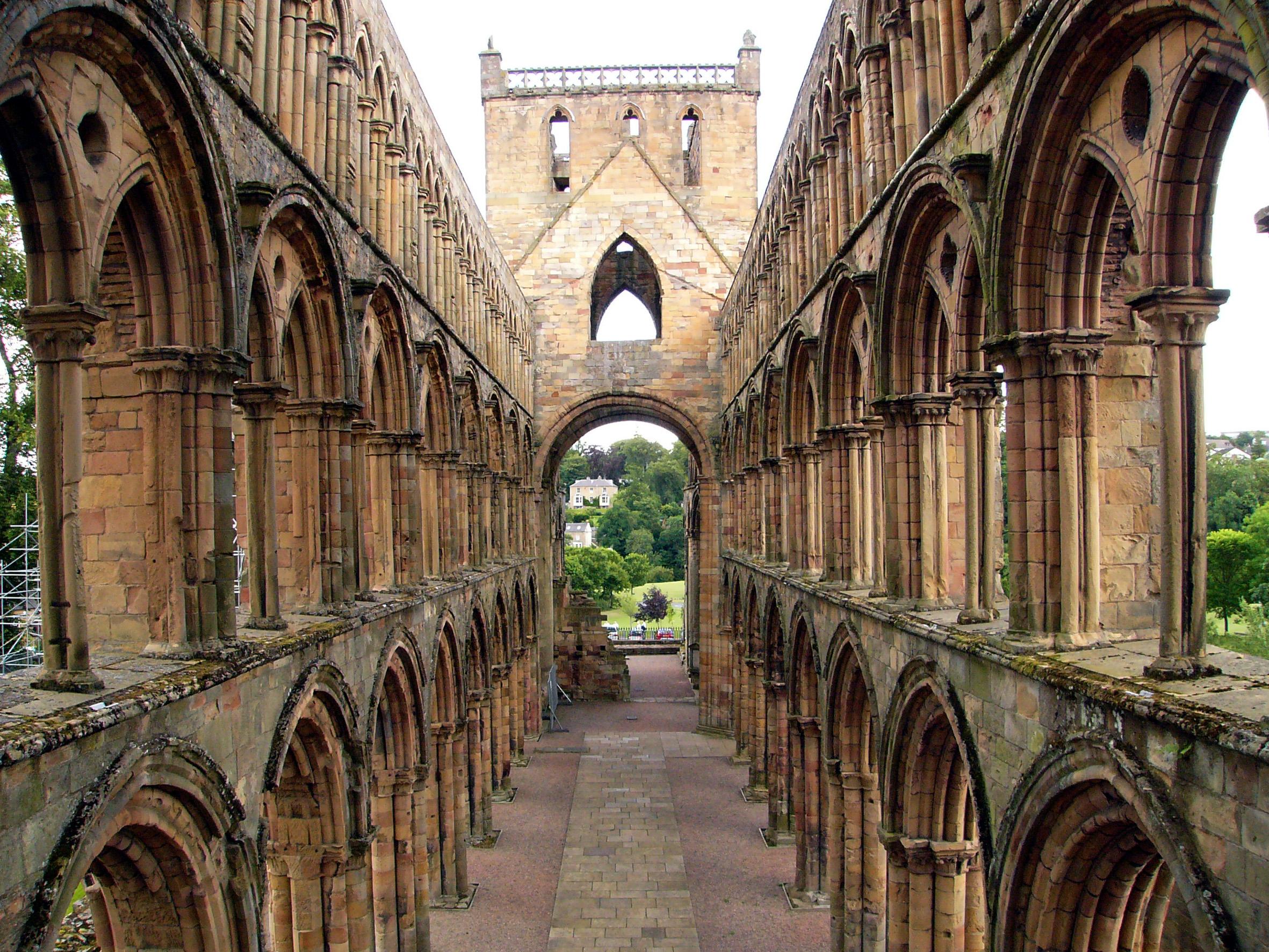 Skotsko-Jedburgh-Abbey