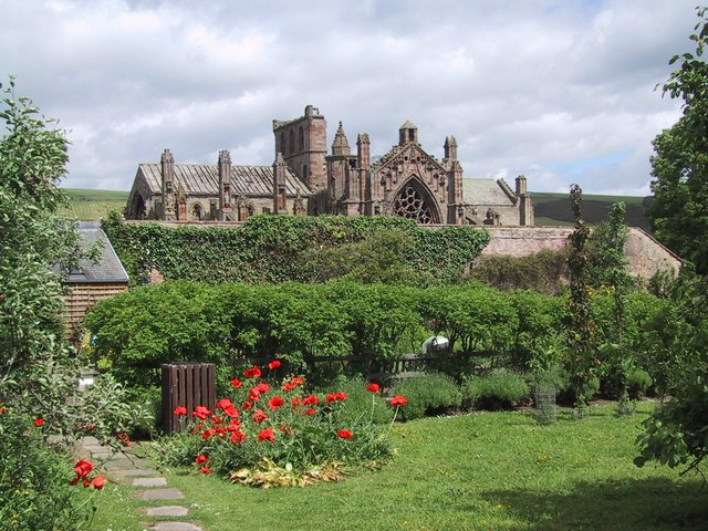 Skotsko-Melrose-Abbey